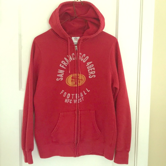 Retro San Francisco 49ers Zip-up Hoodie - Women s.  M 5b2695e445c8b38ff8da9e8f 99ba282c13